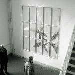 """""""botanisiern shida 20"""" - 2003 / oil based paint on metal / 300 x 250 x 4 cm"""