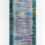 """gene 1"" - 1995 / ohp film print, transparent resin on Panel / 120 x 60 cm"