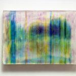"""gene 12"" - 1995 / ohp film print, acrylic sheets, transparent resin on Panel / 29 x 40 cm"