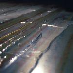 """gene 25"" - 1996 / ohp film print, acrylic sheets, transparent resin on Panel (Detail)"