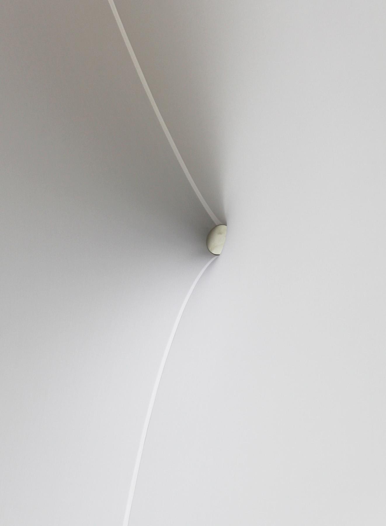 """JIBA SN"" - 2014 Magnet, cloth, wood / 460 x 300 x 200cm Nordrhein-Westfalen, NRW Landtag, Düsseldorf, Germany"